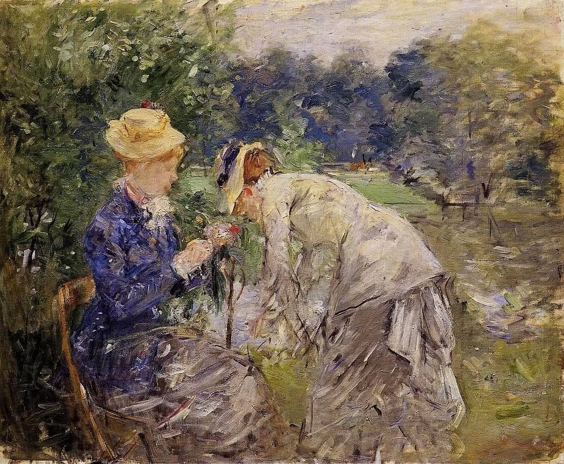 """""""No Bois de Boulogne"""" de Berthe Morisot"""